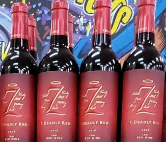 7 Deadly Red Wine