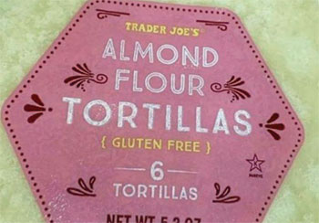 Trader Joe's Almond Flour Tortillas