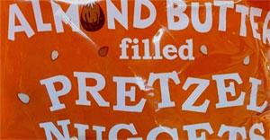Trader Joe's Almond Butter Filled Pretzel Nuggets