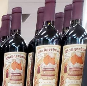 Badgerhound Zinfandel Wine