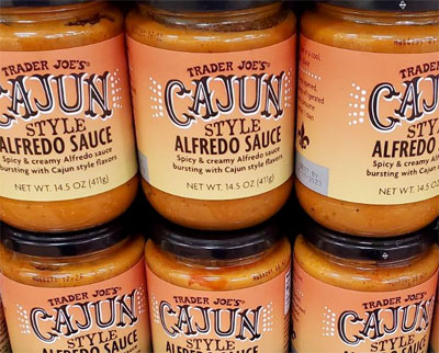 Trader Joe's Cajun Style Alfredo Sauce