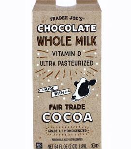 Trader Joe's Chocolate Whole Milk