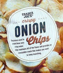 Trader Joe's Crispy Onion Chips
