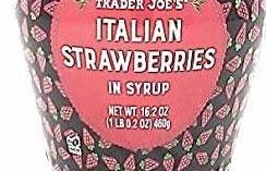Trader Joe's Italian Strawberries in Syrup