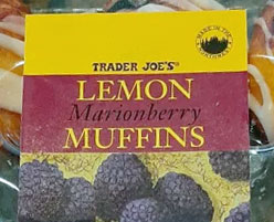 Trader Joe's Lemon Marionberry Muffins
