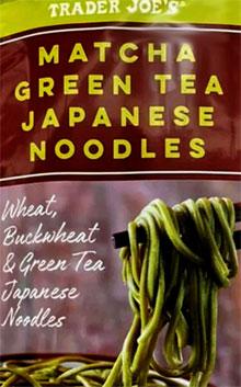 Trader Joe's Matcha Green Tea Japanese Noodles Reviews