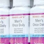 Trader Joe's Men's Once Daily Multivitamins