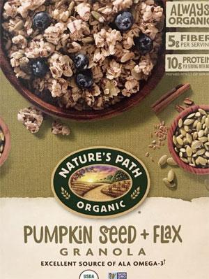 Nature's Path Organic Pumpkin Seed and Flax Granola