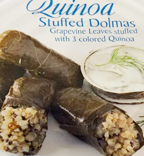 Trader Joe's Quinoa Stuffed Dolmas