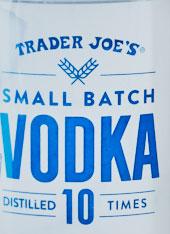 Trader Joe's Small Batch Vodka