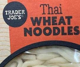 Trader Joe's Thai Wheat Noodles
