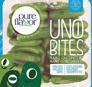 Pure Flavor Uno Bites Nano Cucumbers