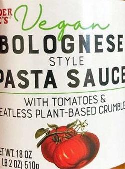 Trader Joe's Vegan Bolognese Style Pasta Sauce Reviews