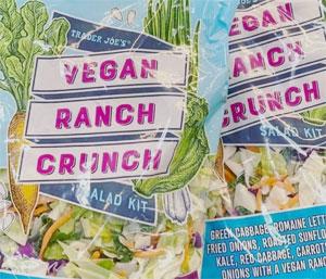 Trader Joe's Vegan Ranch Crunch Salad Kit