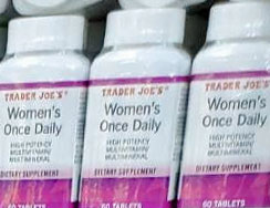 Trader Joe's Women's Once Daily Multivitamins