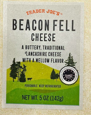 Trader Joe's Beacon Fell Cheese Reviews