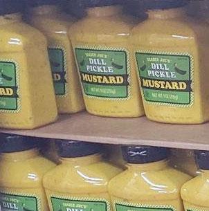 Trader Joe's Dill Pickle Mustard
