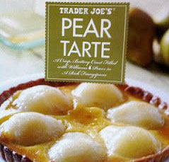 Trader Joe's Frozen Pear Tarte
