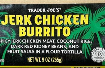 Trader Joe's Jerk Chicken Burrito Reviews