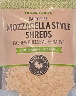 Trader Joe's Dairy-Free Mozzarella Style Shreds