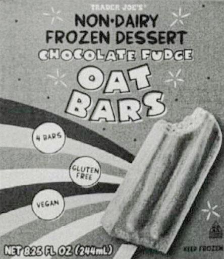 Trader Joe's Non-Dairy Chocolate Fudge Oat Bars Reviews