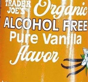 Trader Joe's Organic Alcohol Free Pure Vanilla Flavor