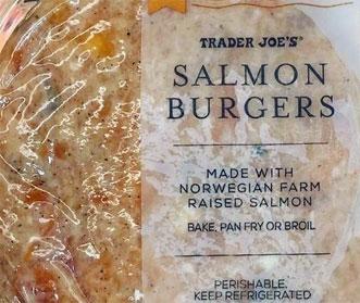 Trader Joe's Fresh Salmon Burgers Reviews