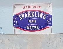 Trader Joe's Sparkling Plain Water