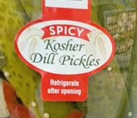 Trader Joe's Spicy Kosher Dill Pickles