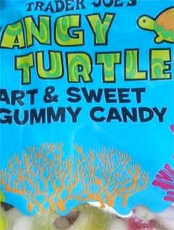 Trader Joe's Tangy Turtles Gummies