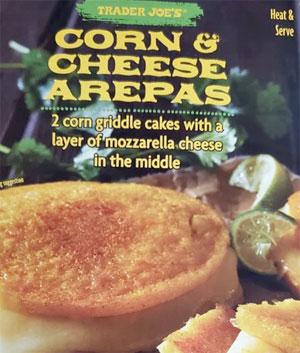 Trader Joe's Corn & Cheese Arepas Reviews