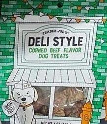 Trader Joe's Deli Style Corned Beef Flavor Dog Treats