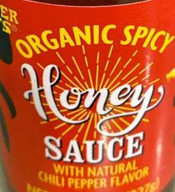 Trader Joe's Organic Spicy Honey Sauce