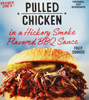Trader Joe's Pulled Chicken in a Hickory Smoke Flavored BBQ Sauce Reviews
