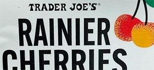 Trader Joe's Rainier Cherries