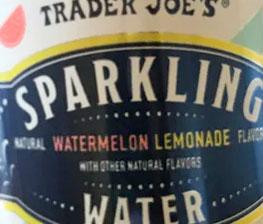 Trader Joe's Watermelon Lemonade Sparkling Water