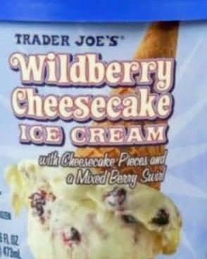 Trader Joe's Wildberry Cheesecake Ice Cream Reviews