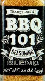 Trader Joe's BBQ 101 Seasoning Blend