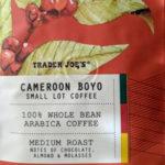 Trader Joe's Cameroon Boyo Small Lot Coffee