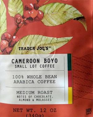 Trader Joe's Cameroon Boyo Small Lot Coffee Reviews