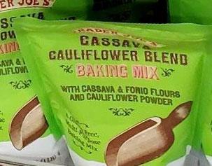 Trader Joe's Cassava Cauliflower Blend Baking Mix
