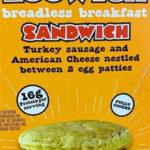 Trader Joe's Breadless Eggwhich Breakfast Sandwich