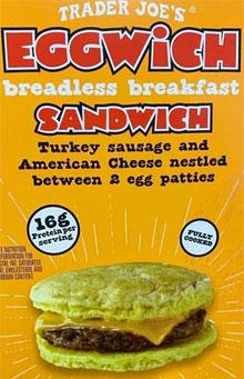 Trader Joe's Breadless Eggwhich Breakfast Sandwich Reviews