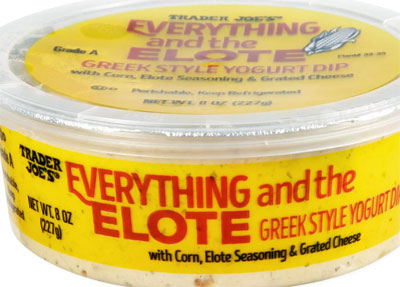 Trader Joe's Everything and the Elote Greek Style Yogurt Dip