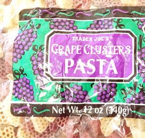 Trader Joe's Grape Clusters Pasta