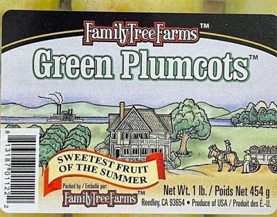 Family Tree Farms Green Plumcots