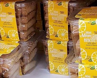 Trader Joe's Mini Meyer Lemon Biscotti