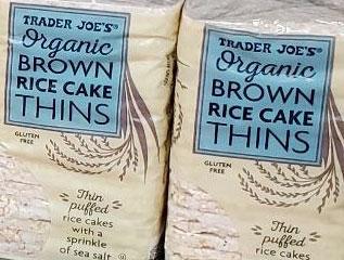 Trader Joe's Organic Brown Rice Cake Thins