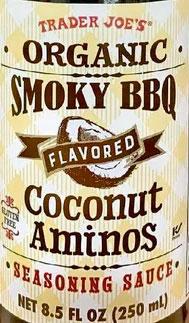 Trader Joe's Organic Smoky BBQ Flavored Coconut Aminos Seasoning Sauce