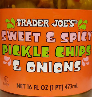 Trader Joe's Sweet & Spicy Pickle Chips & Onions Reviews